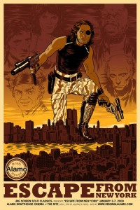 Escape from New York Poster from Alamo Drafthouse