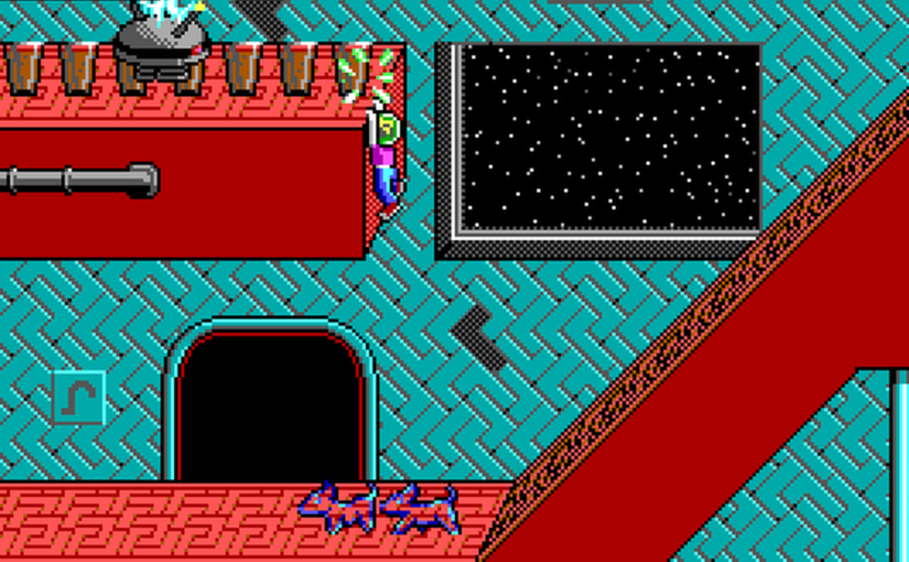 Let's Play Commander Keen 5: The Armageddon Machine 14: Brownian Motion Inducer