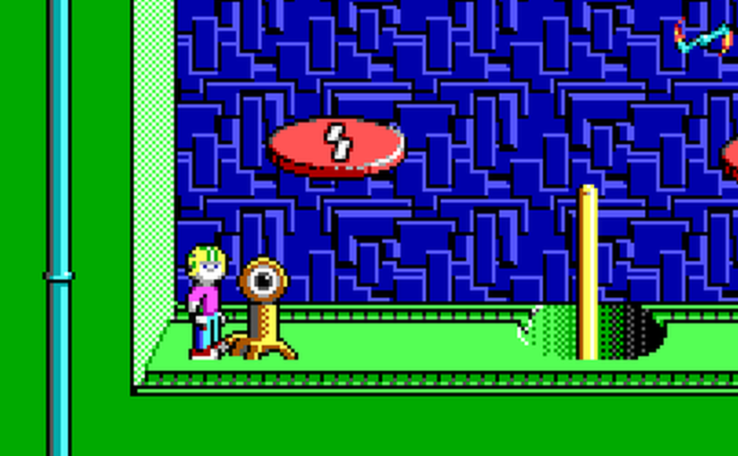 Let's Play Commander Keen 5: The Armageddon Machine 16: Gravitational Dampening Hub