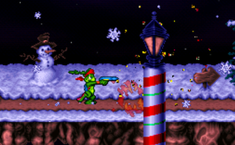 Let's Play Jazz Jackrabbit 2: Holiday Hare '98 Part 3: Dashing Thru the Snow